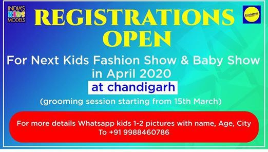 Indias kids models exclusive Baby show & Kids fashion show