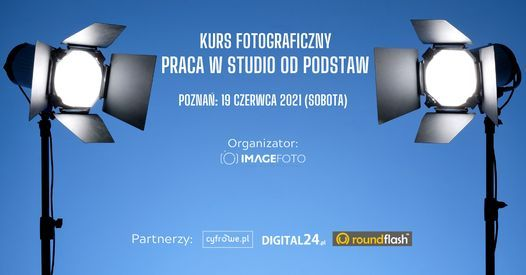 "Kurs fotograficzny ""Praca w studio od podstaw"", 19 June | Event in Poznan | AllEvents.in"
