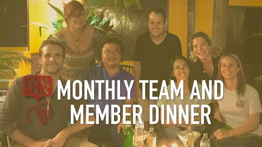 Monthly Team and Member Dinner - Real Talk Chiang Mai, 27 April   Event in Chiang Mai   AllEvents.in