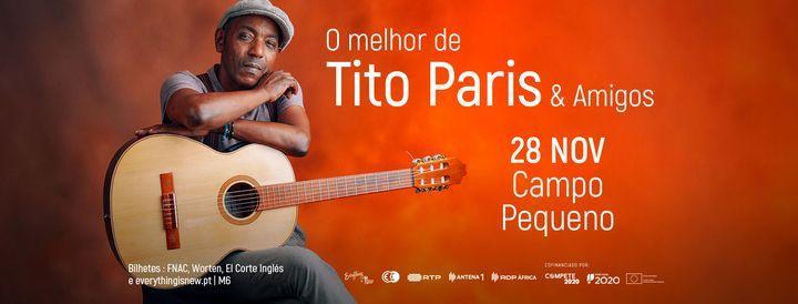 TITO PARIS // CAMPO PEQUENO, 28 November   Event in Lisbon   AllEvents.in