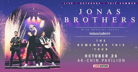 Jonas Brothers: The Remember This Tour, 26 October   Event in Litchfield Park   AllEvents.in