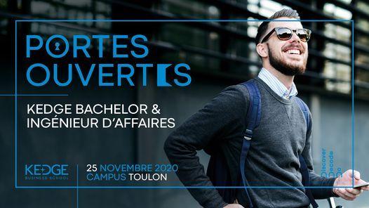 Toulon : Soirée Portes Ouvertes spéciale Programmes Ingénieur d'affaires et KEDGE Bachelor, 25 November