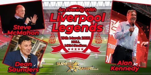 An Evening with Liverpool Legends - Hull, 9 October | Event in Kingston Upon Hull | AllEvents.in