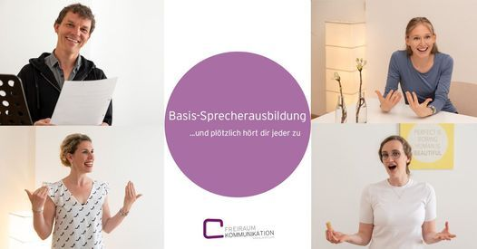 Basis Sprecherausbildung (hybrid), 23 February | Event in Vienna | AllEvents.in
