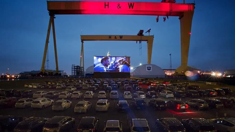 Drive In Cinema Belfast: Up at Titanic Quarter, Belfast