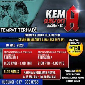 Seminar Magnet A Bahasa Melayu SPM