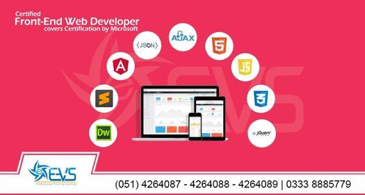 Free Seminar on Front-End Web Development, 23 April | Event in Rawalpindi | AllEvents.in