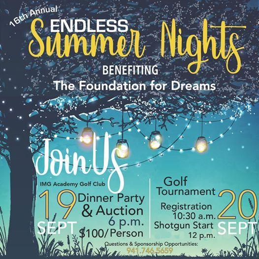 Bradenton Oaks: 16th Annual Endless Summer Nights At Foundation For Dreams