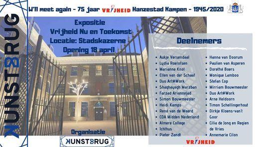 Expositie '75 jaar Vrijheid, Nu en Toekomst', 17 April | Event in Kampen | AllEvents.in