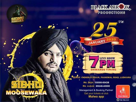 Saturday Night with Sidhu Moosewala