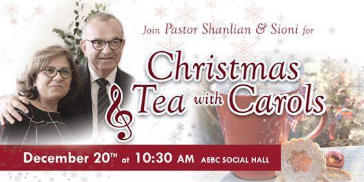 Christmas Tea with Carols