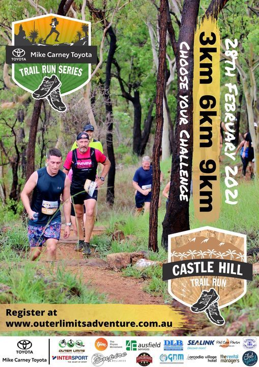 Castle Hill Trail Run 2021, 28 February | Event in Townsville | AllEvents.in