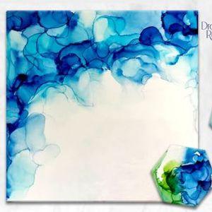 Alcohol Ink Online Workshop with Home Delivered Kits