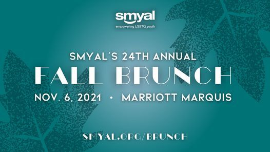 SMYAL's 24th Annual Fall Brunch, 6 November   Event in Washington   AllEvents.in
