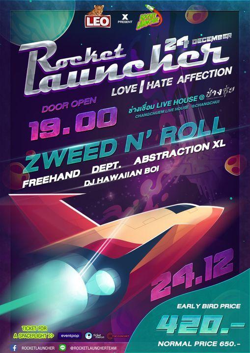 ROCKETLAUNCHER X LEO present LOVE   HATE AFFECTION, 24 December   Event in Klong Luang Peng   AllEvents.in