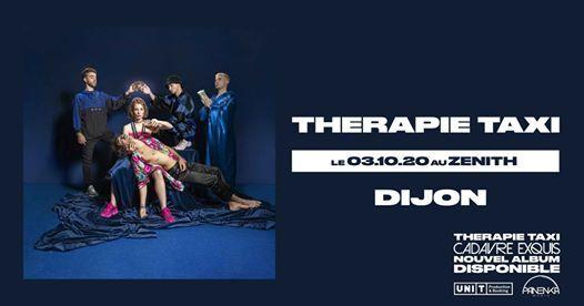 Therapie TAXI  Checler le 24 avril 2020 au Znith de Dijon