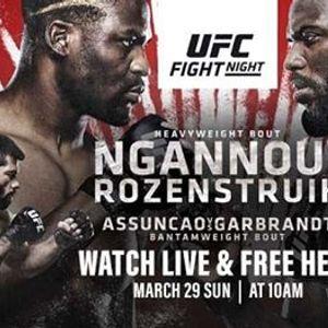 Fight Night - Ngannou vs. Rozenstruik