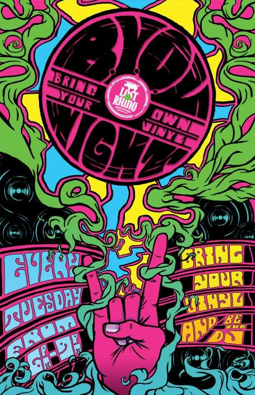 BYOV (Bring Your Own Vinyl) Night - Wildcard with Right On Records