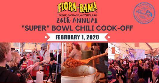 26th Annual Super Bowl Chili Cook-Off