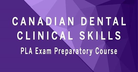 PLA Prep Course at Continuing Dental Education - Western University