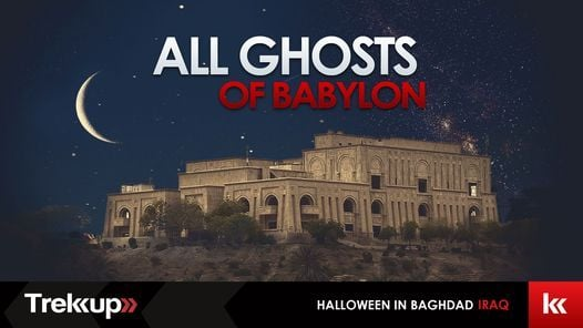 All Ghosts of Babylon   Halloween at Saddams', Iraq, 29 October   Event in Dubai   AllEvents.in