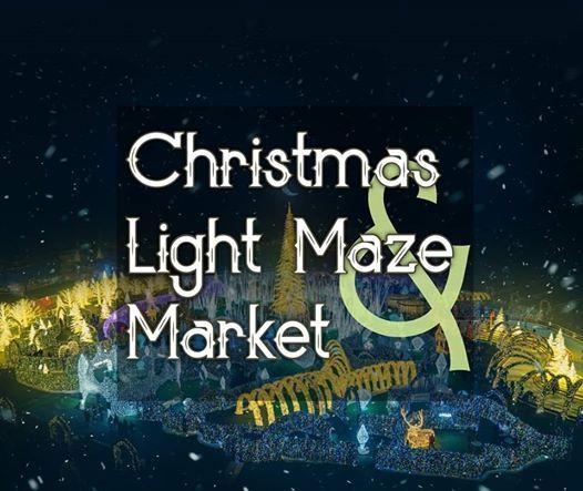 Christmas Light Maze & Market at Nats Park