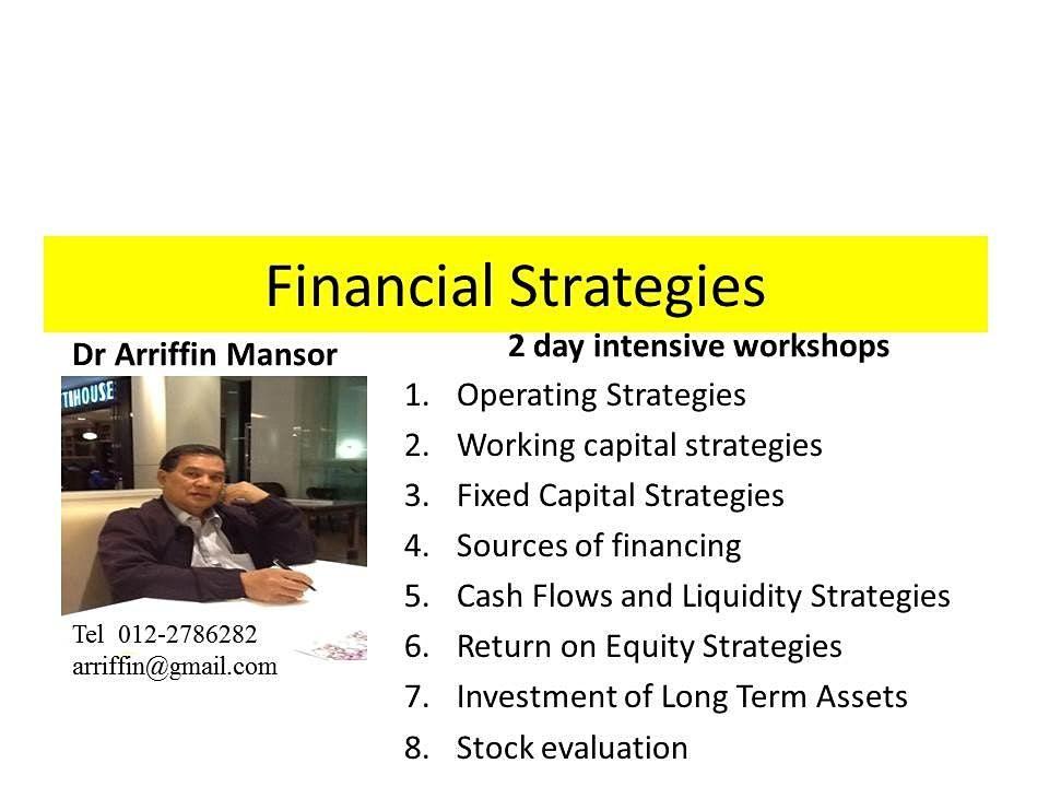 STRATEGIC FINANCE vis Spreadsheet   A case Analysis Approach
