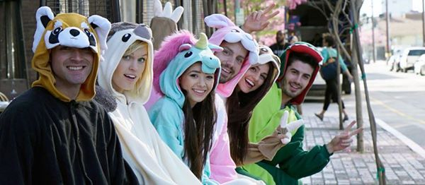 Onesie Pub Crawl Houston - Free