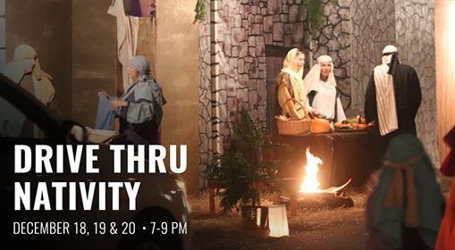 Drive Thru Nativity