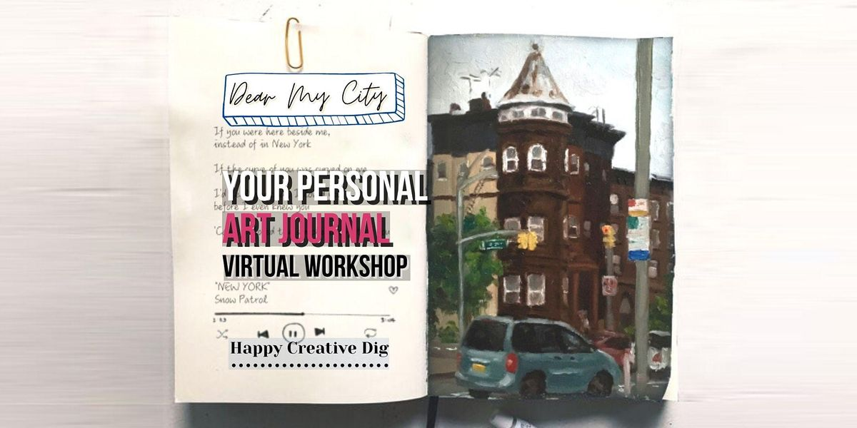 [ Valentine] Paint Your Love Song In Your Art Diary- Virtual Workshop   Online Event   AllEvents.in
