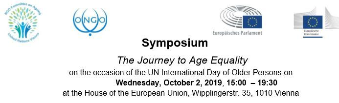 Symposium The Journey to Age Equality