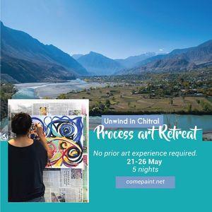 Process art Retreat with Traverse Pakistan