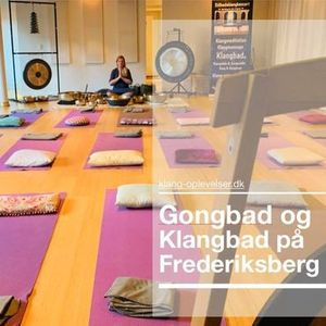 FREDERIKSBERG 3 timer Gong & klangbad vAnne Viese
