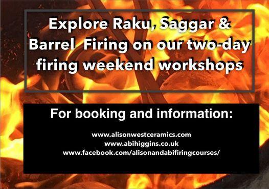 RAKU, SAGGAR & BARREL FIRING WORKSHOP 2021, 17 April | Event in Exeter | AllEvents.in