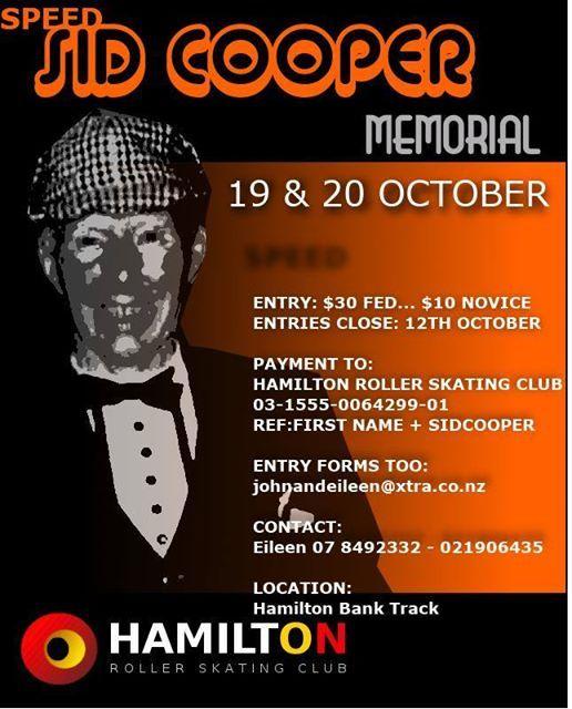 Speed skating Sid Cooper memorial