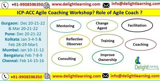 Kolkata ICP ACC Agile Coach workshop Feb 29 Mar 1 n 2