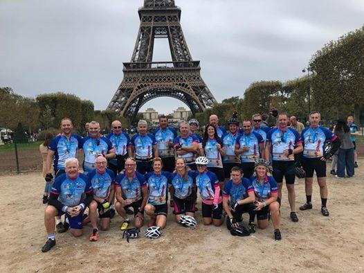 2019 London to Paris Bike Ride