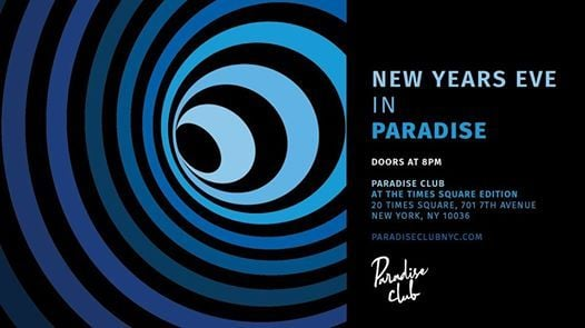 New Years Eve in Paradise