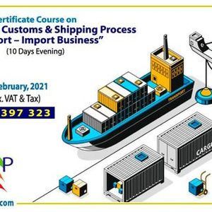 Online Certificate Course on Banking LC Customs & Shipping Process in Export  Import Business (10 Days Evening)