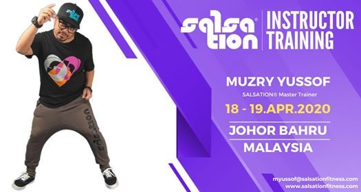 Salsation Instructor Training with Muzry Johor Bahru Malaysia