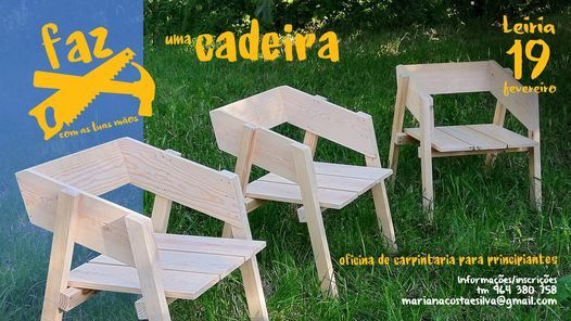 Workshop FAZ uma cadeira, 3 July   Event in Leiria   AllEvents.in