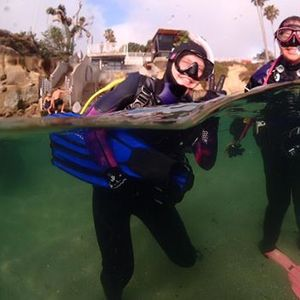 Dive Club Dive at La Jolla Cove w Tim Oelgoetz