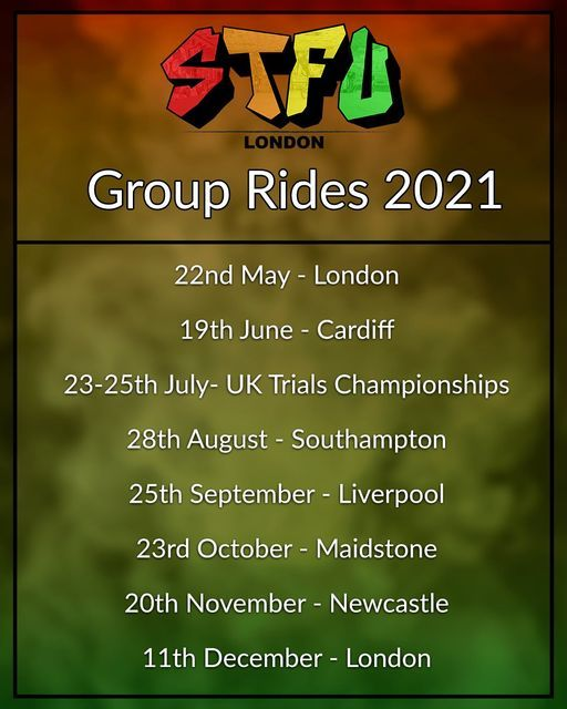 STFU Group Ride: Cardiff, 19 June | Event in Bromley | AllEvents.in