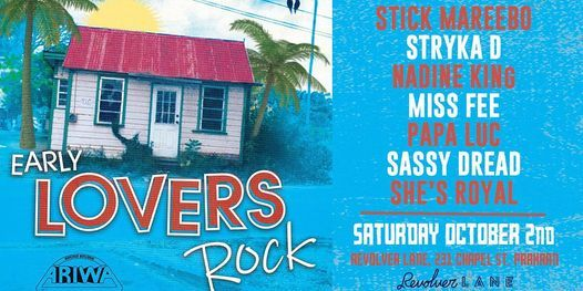 EARLY LOVERS ROCK, 2 October | Event in Prahran | AllEvents.in
