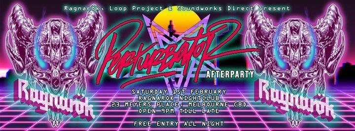 Ragnark - MetalAlternative Nightclub (Perturbator Afterparty)