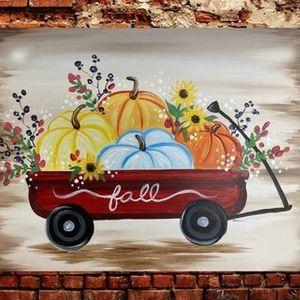 Fall Pumpkins Paint & Sip Class  Artsy Fartsy