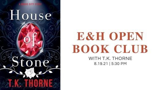 E&H [OPEN] Book Club (w/author appearance!), 19 August   Online Event   AllEvents.in