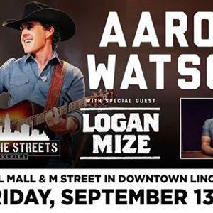 Lincoln on the Streets w Aaron Watson & Logan Mize