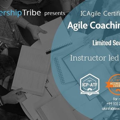 Agile Coach Bootcamp (ICP-ATF & ICP-ACC) Virtual Classes - September 2020