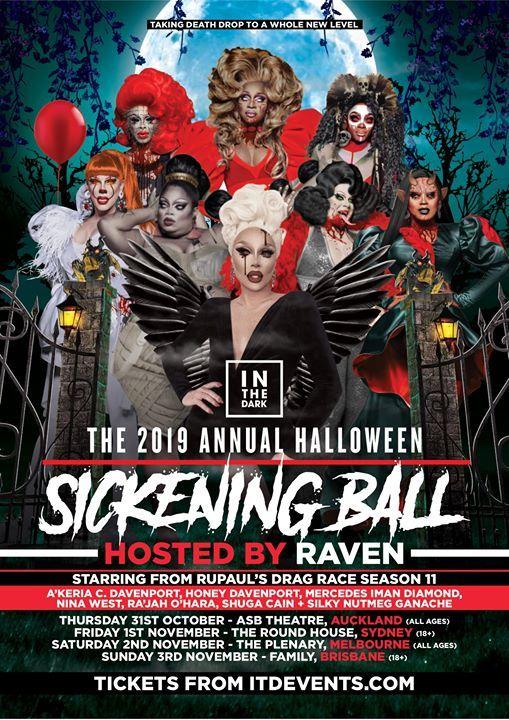 Sickening Ball 2019 Auckland